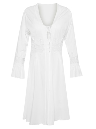 Ecru - Modal - Nightdress