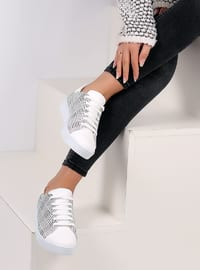 Black - White - Sport - Shoes