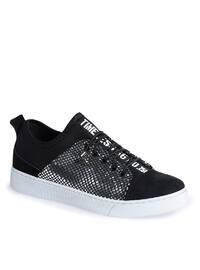Black - Lamé - Sport - Shoes