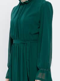 Emerald - Polo neck - Unlined - Dress