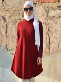 Maroon - Cotton - Tunic