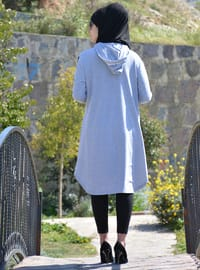 Gray - Cotton - Tunic