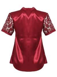 Maroon - Nightdress
