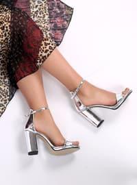 Lamé - High Heel - Heels
