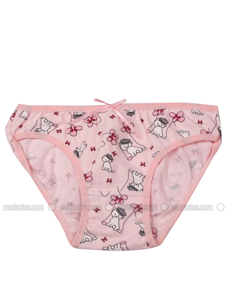 Multi - Pink - Multi - Powder - Girls` Underwear