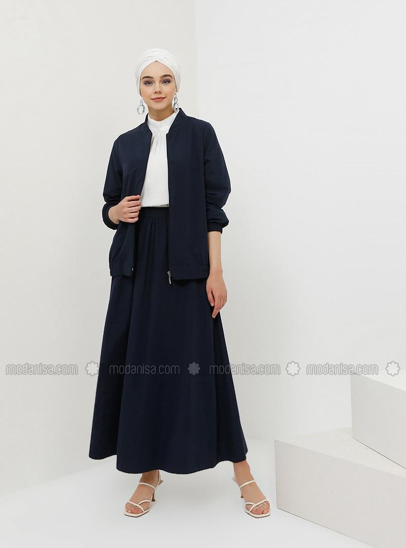 Navy Blue - Indigo - Unlined - Suit