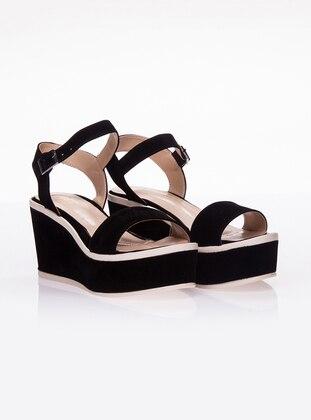 Black - Casual - Shoes - Ayakkabı Havuzu
