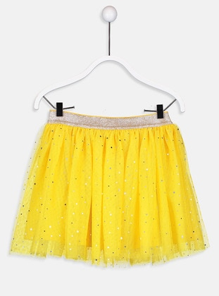 Yellow - Girls` Skirt