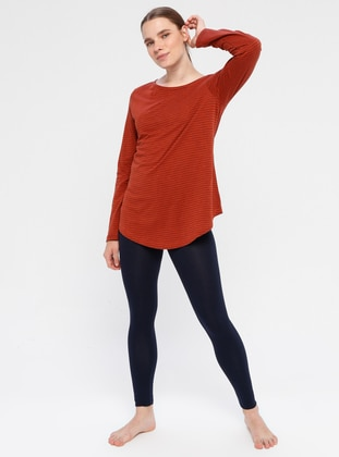 Terra Cotta - Cotton - Legging