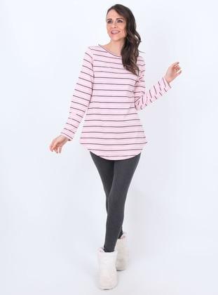 Pink - Cotton - Legging