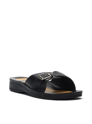 Black - Petrol - Sandal - Slippers