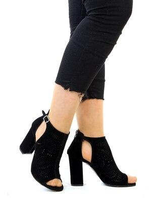 Black - High Heel - Shoes - Snox