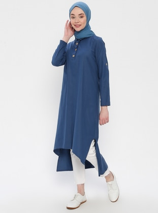 Indigo - Point Collar - Tunic
