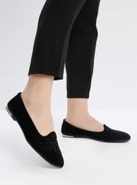 Navy Blue - Flat - Flat Shoes