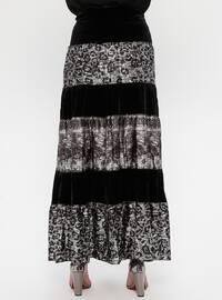 Black - Gray - Multi - Fully Lined - Skirt