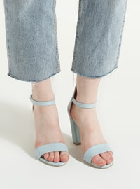 Baby Blue - High Heel - Shoes