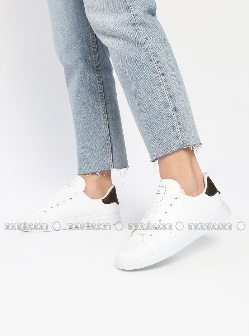 Black - White - Sport - Shoes