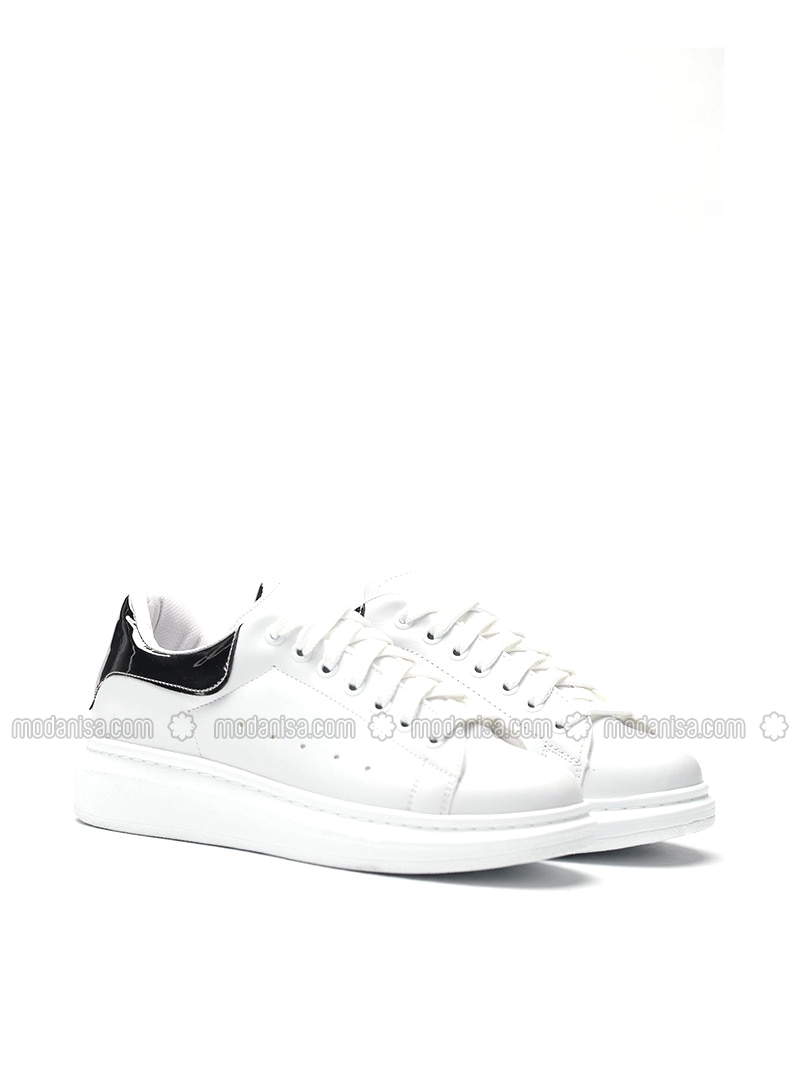White - Silver - Shoes