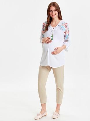 Beige - Maternity Pants - LC WAIKIKI