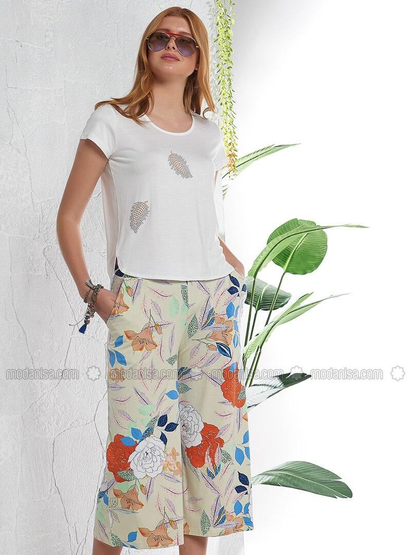 White - Ecru - Multi - Pyjama