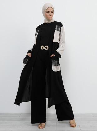 Black -  - Unlined - Topcoat