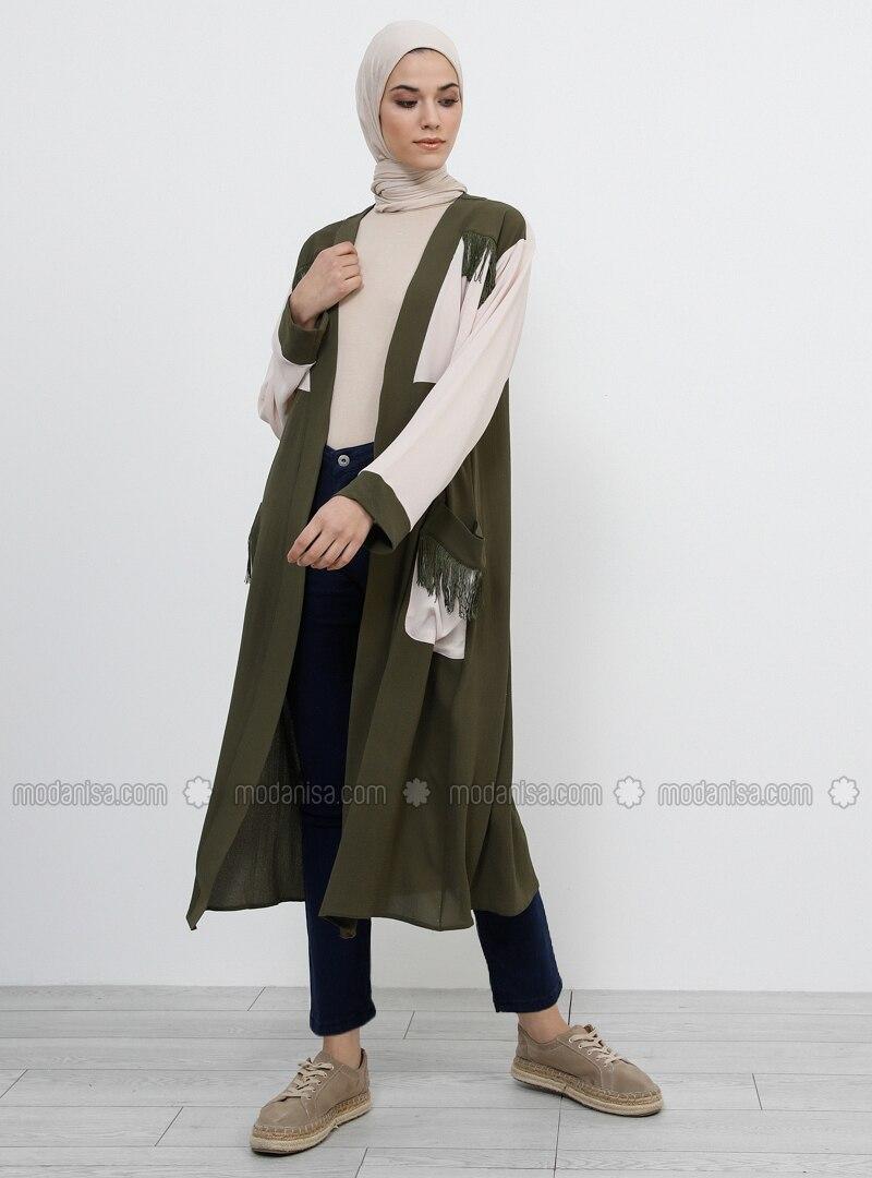 Khaki -  - Unlined - Topcoat