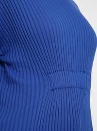 Saxe - Crew neck - Cotton - Tunic