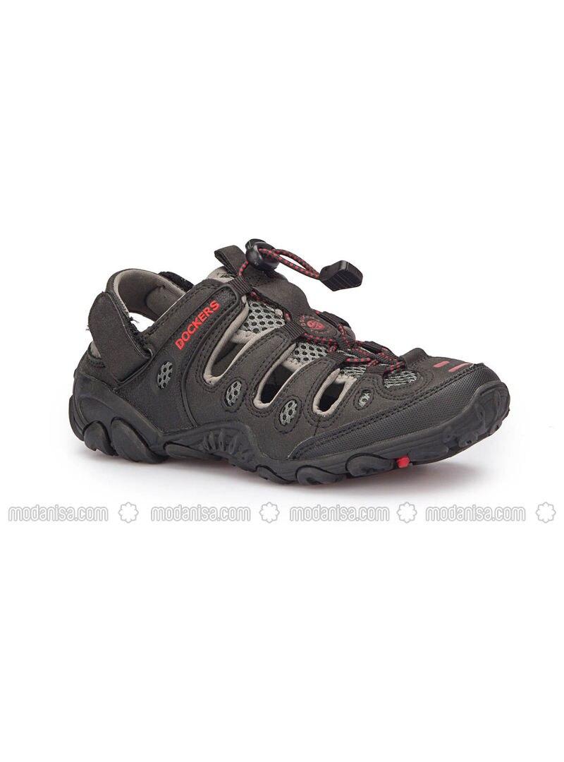 24611b9a3e30 216504 Siyah Kadın Sandalet - Siyah