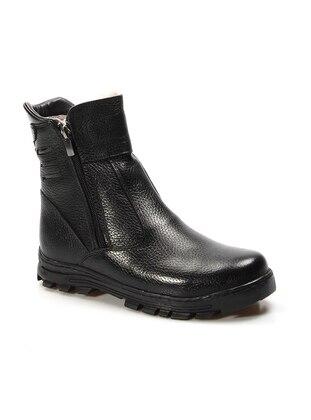 Black - Boot - Boys` Boots