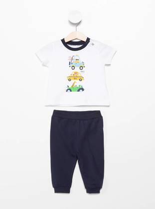 White - Baby Suit