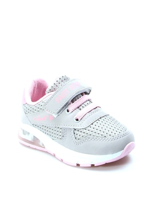 Pink - Gray - Sport - Girls` Shoes - Fast Step