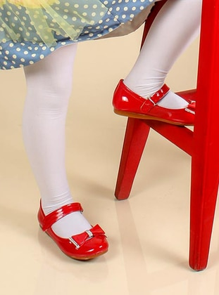 Red - Casual - Girls` Shoes