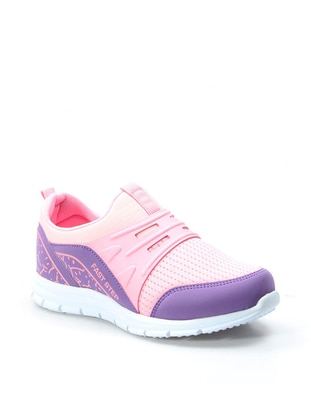 Pink - Lilac - Sport - Casual - Girls` Shoes