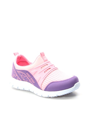 Pink - Lilac - Sport - Girls` Shoes