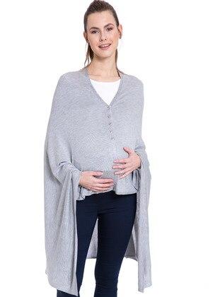 Gray - Maternity Vest