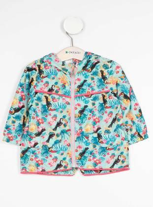 Turquoise - Baby Jacket