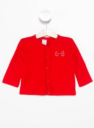 Red - Baby Cardigan