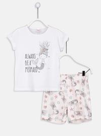 White - Girls` Pyjamas