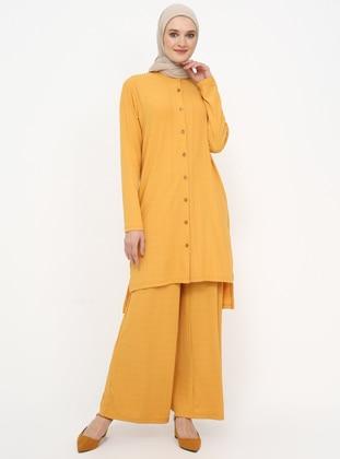 Mustard - Unlined - Suit - Tavin