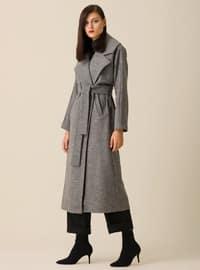 Gray - Unlined - Coat