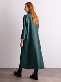 Green - Unlined - Dress