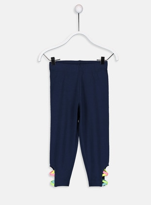 Navy Blue - Girls` Tracksuit