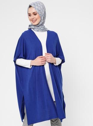 Saxe - Unlined - Shawl Collar - Acrylic -  - Vest - NOVİNZA