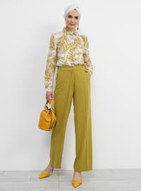 Mustard - Olive Green - Pants