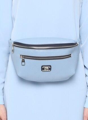 Blue - Clutch - Bum Bag