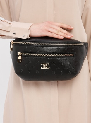 Black - Clutch - Bum Bag