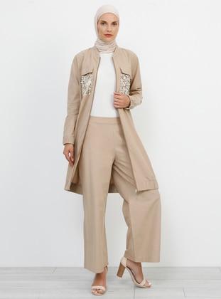 Mink - Cotton - Pants