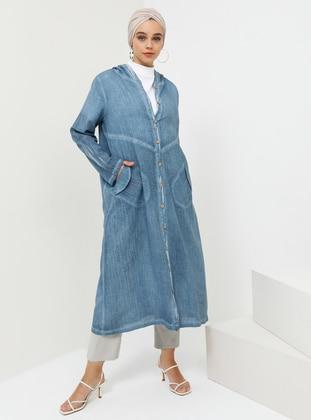 ca897bf299100 Tesettür Dış Giyim Modelleri - Modanisa.com