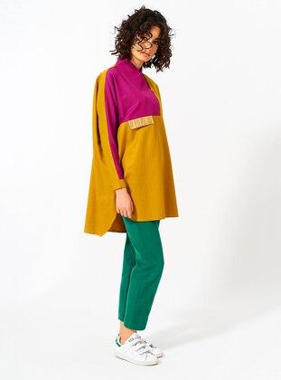 Mustard - Cotton - Tunic