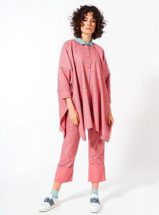 Powder - Stripe - Cotton - Tunic